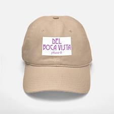 Del Boca Vista - Khaki Baseball Baseball Cap