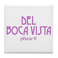 Del Boca Vista - Tile Coaster