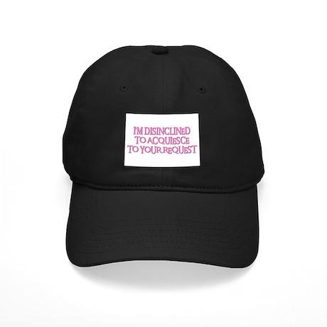 DISINCLINED Black Cap