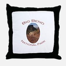 Big Bend National Park...Chisos Mountains Throw Pi