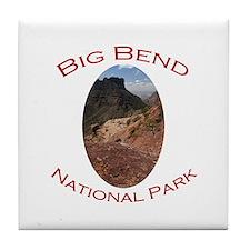 Big Bend National Park...Chisos Mountains Tile Coa