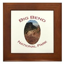 Big Bend National Park...Chisos Mountains Framed T