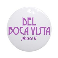 Del Boca Vista Phase II -  Ornament (Round)