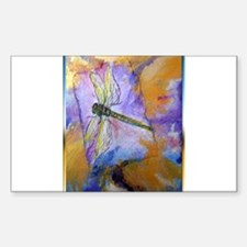Dragonfly! Beautiful nature art! Decal