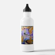 Dragonfly! Beautiful nature art! Sports Water Bottle