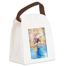 gymnastic champion Canvas Lunch Bag