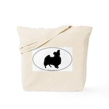 Papillon Silhouette Tote Bag