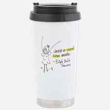 Insist on Yourself Stainless Steel Travel Mug