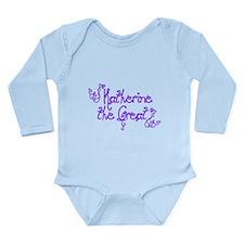 Katherine the Great Long Sleeve Infant Bodysuit