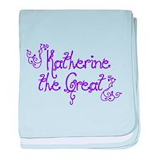 Katherine the Great baby blanket