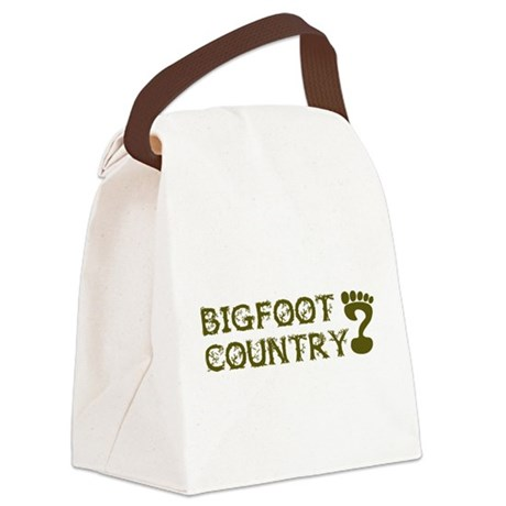 Bigfoot Country Canvas Lunch Bag