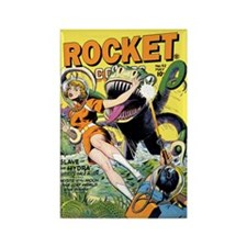 Rocket Comics #42 Rectangle Magnet