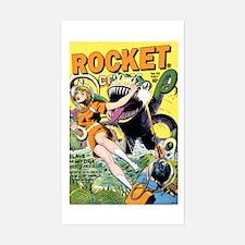 Rocket Comics #42 Decal