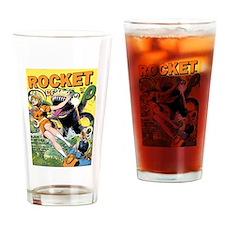 Rocket Comics #42 Drinking Glass