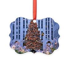 Rock Center Christmas Ornament