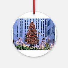 Rock Center Christmas Ornament (Round)