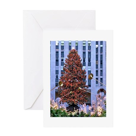 Rock Center Christmas Greeting Card