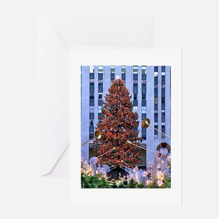 Rock Center Christmas Greeting Card