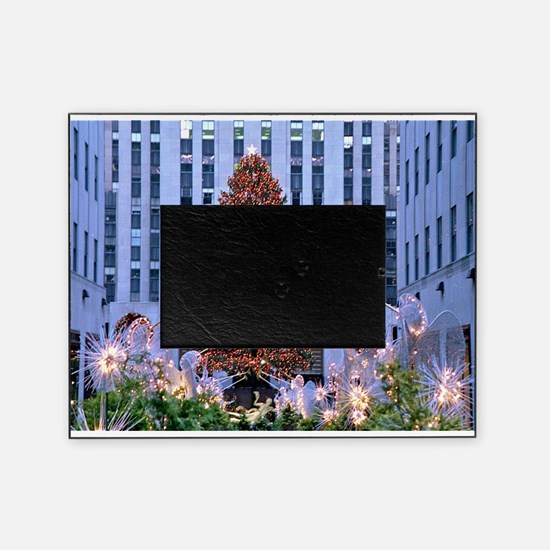 Rock Center Christmas Picture Frame