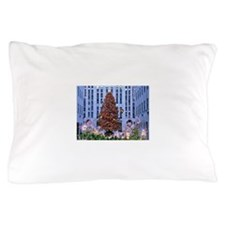 Rock Center Christmas Pillow Case