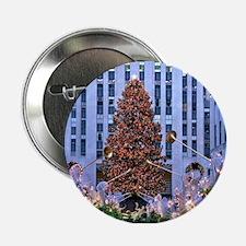 """Rock Center Christmas 2.25"""" Button"""