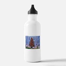 Rock Center Christmas Water Bottle