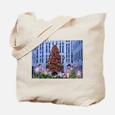 Rock Center Christmas Tote Bag