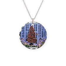 Rock Center Christmas Necklace
