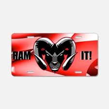 Ram It Truck Aluminum License Plate