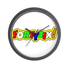 fortysix Wall Clock