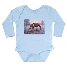 A New Day Begins Long Sleeve Infant Bodysuit