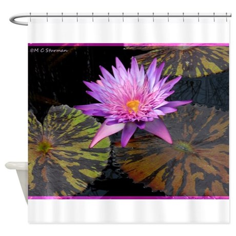 Waterlily! Beautiful photo! Shower Curtain