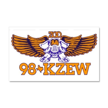 KZEW (1982) Car Magnet 20 x 12