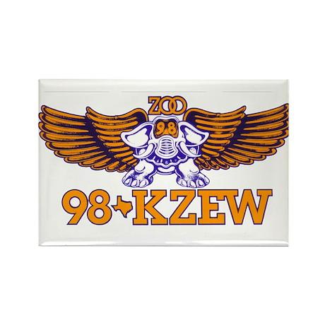 KZEW (1982) Rectangle Magnet