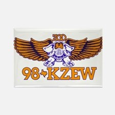 KZEW (1982) Rectangle Magnet