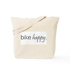 Bike Happy Tote Bag