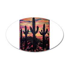 Desert, southwest art! Saguaro cactus! Wall Decal