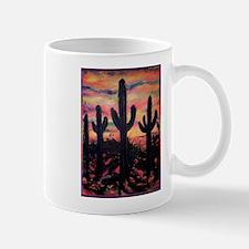 Desert, southwest art! Saguaro cactus! Mug