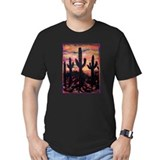 Saguaro Fitted Dark T-Shirts