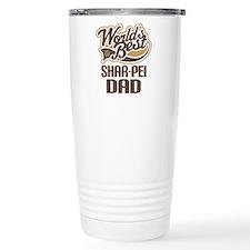 Shar-Pei Dad Gift Travel Coffee Mug