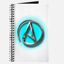 Atheist Logo (Aqua) Journal