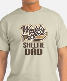 Sheltie Dad Gift T-Shirt