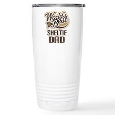 Sheltie Dad Gift Travel Mug