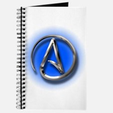 Atheist Logo (blue) Journal