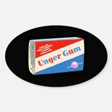 Unger Gum - Oval Decal