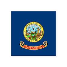 """Idaho Flag Square Sticker 3"""" x 3"""""""