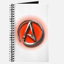 Atheist Logo (red) Journal