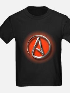 Atheist Logo (red) T
