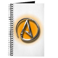 Atheist Logo (orange) Journal