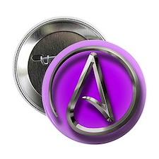 "Atheist Logo (purple) 2.25"" Button (10 pack)"